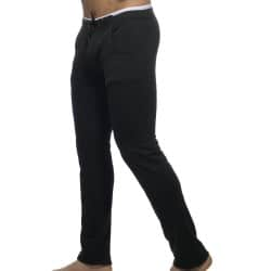 Pantalon Combined Waistband Noir Addicted