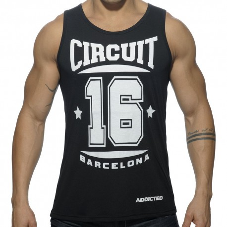 Circuit Tank Top - Black
