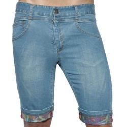 Bermuda Print Details Denim ES Collection