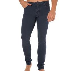 Dexter Stretch Jean Pants - Vintage Blue Solid