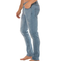 Pantalon Jeans Stretch Joy Bleu Clair Solid