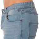 Pantalon Jeans Stretch Joy Bleu Clair