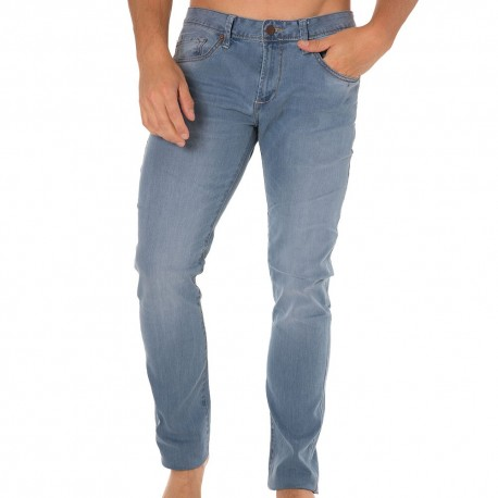 Pantalon Jeans Stretch Roy Bleu Clair