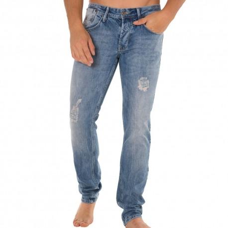 Pantalon Jeans Ray Bleu Clair