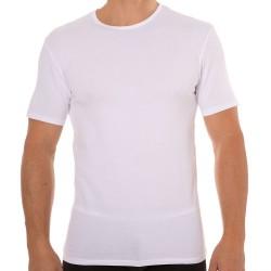 Lot de 2 T-Shirts Col Rond Dry & Cool Blanc - Noir DIM