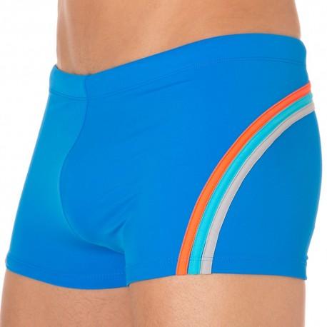 Shorty de Bain Lycra Rainbow Bleu Océan