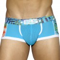 Boxer Tropical Mesh Turquoise