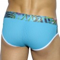 Tropical Mesh Brief - Turquoise