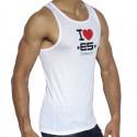 I Love ES Tank Top - White