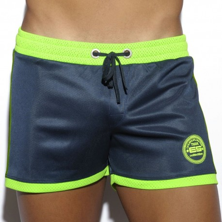 Mesh Combined Short - Navy