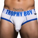 Trophy Boy Tagless Brief - White