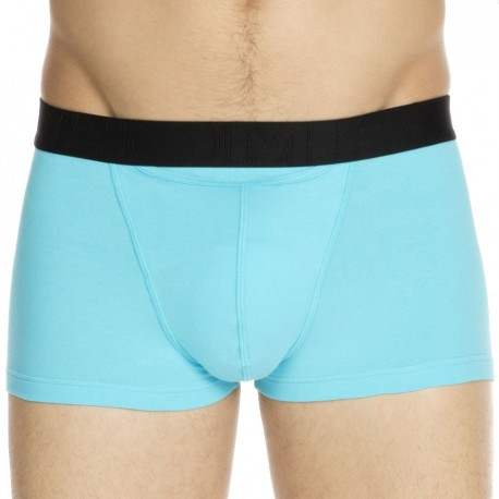 2-Pack H01 Boxers - Turquoise - Black