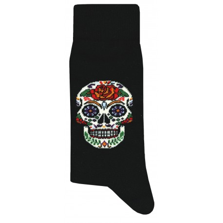 Mexico Socks - Black