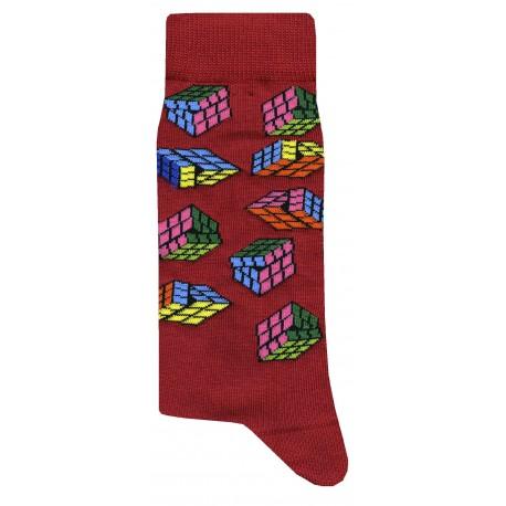 Rubix Socks - Red