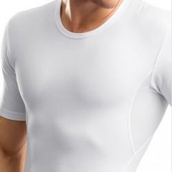 T-Shirt Gainant Blanc LEO