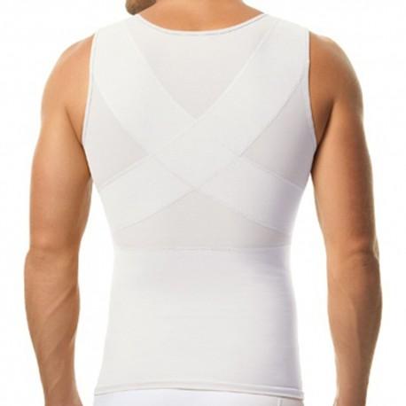 Torso Toner Body Shaper - White