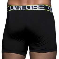 Boxer Long Vibe Sports Tagless Noir Andrew Christian