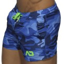 Swim Short - Navy Camouflage
