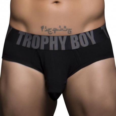 Trophy Boy Tagless Brief - Black