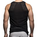 Net Tank Top - Black