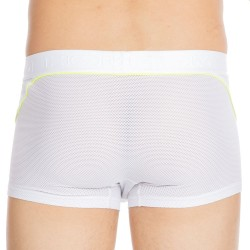 Boxer Performance Ultra H01 Blanc - Jaune Fluo HOM