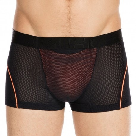Performance Ultra H01 Boxer - Black - Neon Orange