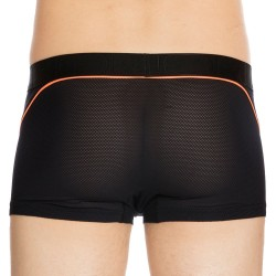 Boxer Performance Ultra H01 Noir - Orange Fluo HOM