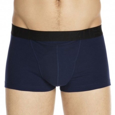2-Pack H01 Boxers - Navy - Orange