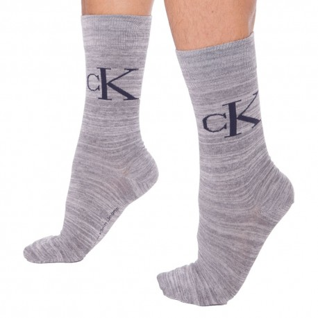 2-Pack Milo Socks - Grey - Blue