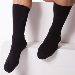 Lot de 3 Paires de Chaussettes Eric Noires Calvin Klein