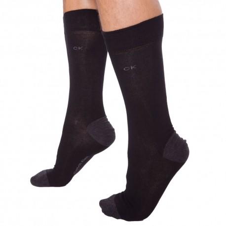 4-Pack Freddie Socks - Black - Heather - Graphite - Charcoal