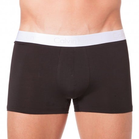 Boxer Liquid Stretch Cotton Noir