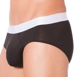Slip Liquid Stretch Cotton Noir Calvin Klein