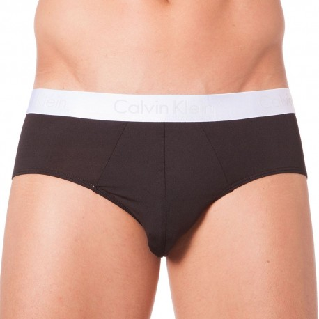 Liquid Stretch Micro Brief - Black
