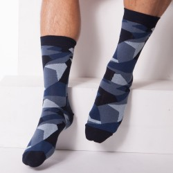 Chaussettes Camouflage Bleues Diesel