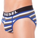 3-Pack Briefs - Blue - Striped - Black