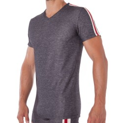 T-Shirt Motion Division Underdenim Gris Diesel