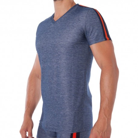 Motion Division Underdenim T-Shirt - Blue