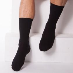 Lot de 3 Paires de Chaussettes Coton Noires DIM