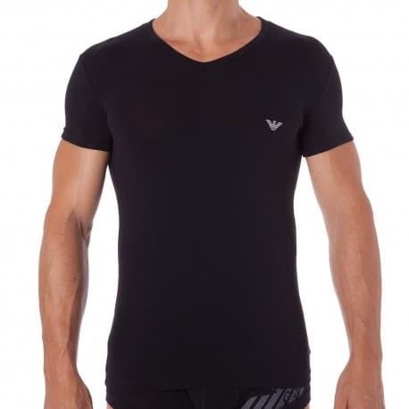 T-Shirt Athletics Big Eagle Noir