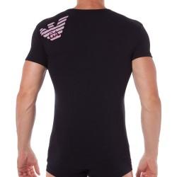 T-Shirt Athletics Big Eagle Noir Emporio Armani