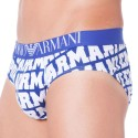 Logomania Brief - Electric Blue