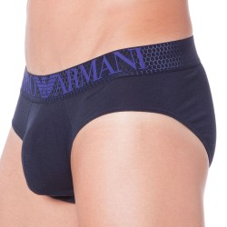 Slip Hexagon Printed Eagle Marine Emporio Armani