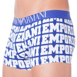 Boxer Logomania Bleu Electrique Emporio Armani