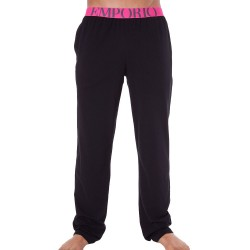 Pantalon Athletics Big Eagle Noir Emporio Armani