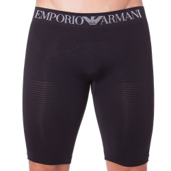Boxer Long 3D Seamless Noir Emporio Armani