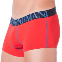 Boxer Brushed Microfiber Rouge Emporio Armani