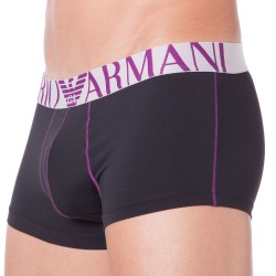 Boxer Brushed Microfiber Noir Emporio Armani
