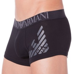 Boxer Hexagon Printed Eagle Noir Emporio Armani