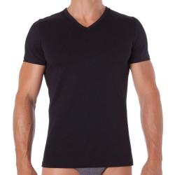 T-Shirt Classic V-Neck Noir HOM